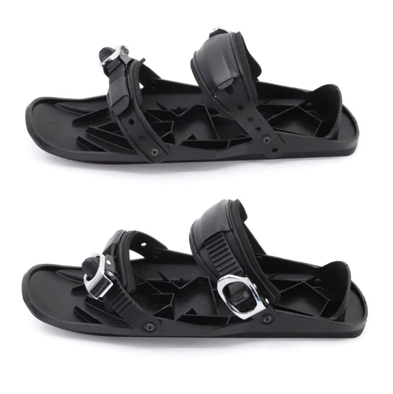 Регулируемые лыжные коньки, снегоступы, зимняя уличная прочная обувь для сноуборда, саней, Лыжная обувь для мужчин и женщин
