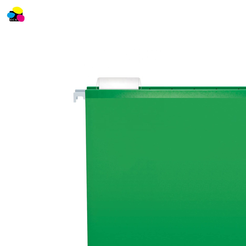 office supplies 11pt Paper 25pcs/box Legal size Green Suspension Hanging File Folder