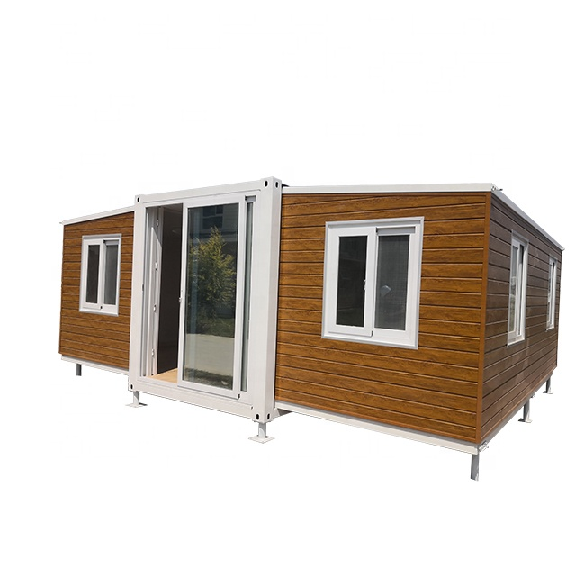 cheapest New Design Two Bedroom One Bathroom Ready made expandable pre fab houses prefabricated homes