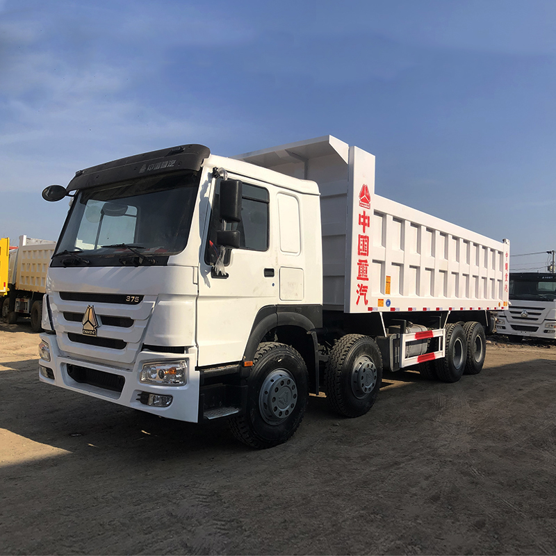 SINO TRUCK 12 Wheeler 30 Cubic Meters HOWO 40tons 8x4 Used Dump Tipper Truck