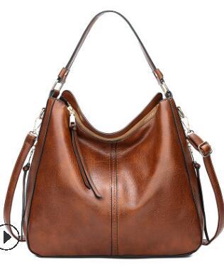 Женские сумки из натуральной кожи, женские корейские модные сумки через плечо, милые сумки через плечо, женские сумки 2020 C1240(Китай)