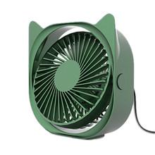 Вентилятор охлаждения USB 2020, 3-скоростной бесшумный маленький вентилятор для автомобильных задних сидений, кондиционер, мини USB вентилятор д...(Китай)