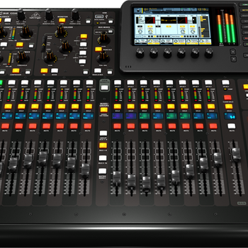 New Behringe_r X32 40-input 25-total-bus 32 Gain-Programmable Mic Preamps 25 Motorized Faders xr32 compact Digital Mixer