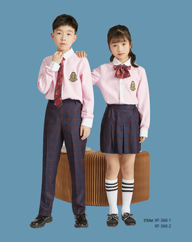 Factory supply white school shirts unisex school uniform