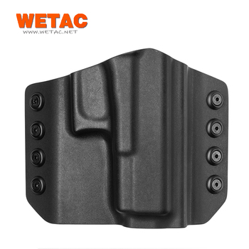 Wetac owb pistol POLICE tactical pistol holster kydex professional factory from China