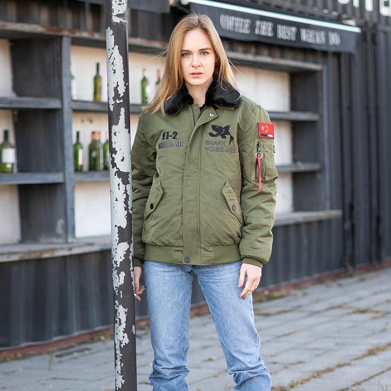 Зимняя мужская куртка с вышивкой, куртка-бомбер, армейская зеленая нейлоновая повседневная одежда с вышивкой в стиле милитари