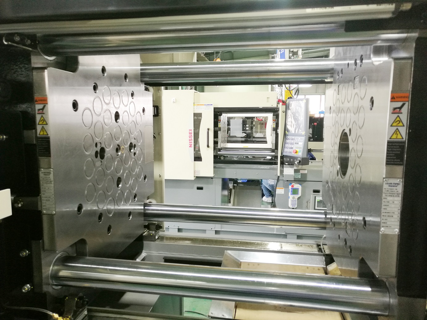 Suitable injection machine custom-made magnetic mold change system magnetic clamping