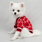 Knitted Clothes Dogs Knitted Fashion Winter Pet Sweater Dog Outfits Clothes Sweater Products