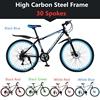 उच्च कार्बन स्टील फ्रेम 30 प्रवक्ता