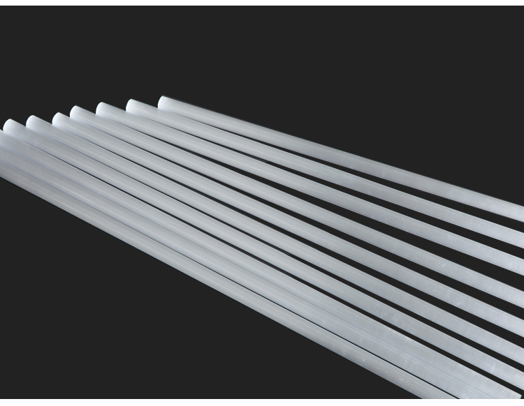 High purity milky ceramic stirring rod for metal melting stirring, with high temperature resistance and abrasion resistance