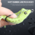 Hot sale 60mm 12.3g hollow body fish lures rubber silicone soft frog lure with hook