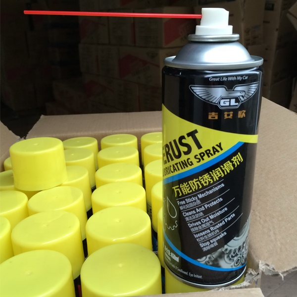Chain and cable Lube spray rust inhibitor rust remover in guangzhou