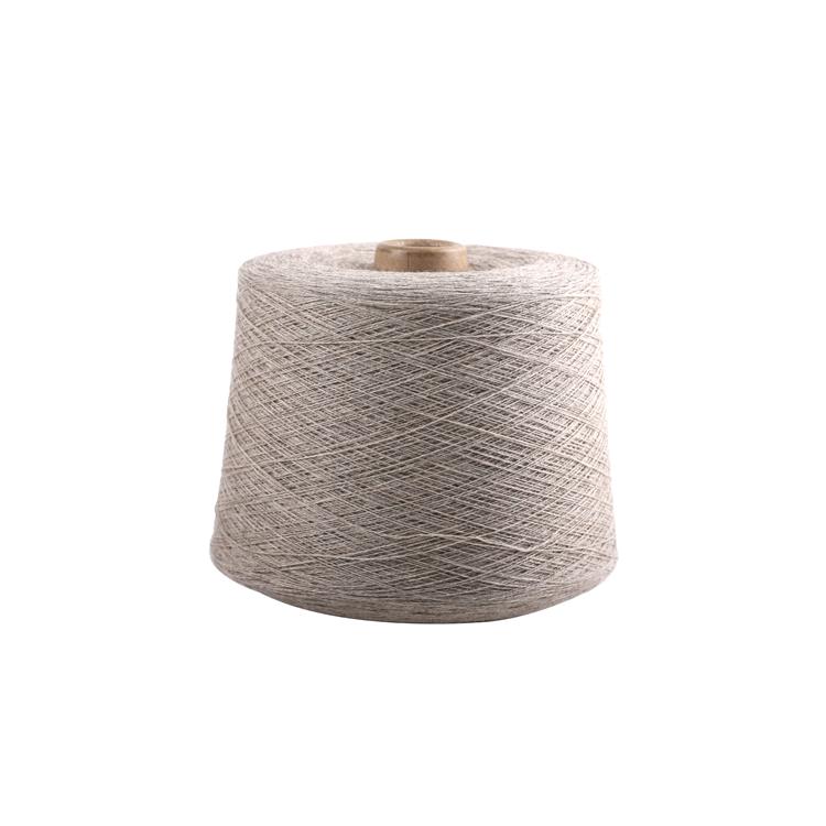 Высококачественная Белая чистая монгольская машинная вязка, 100% мериносовая шерстяная пряжа
