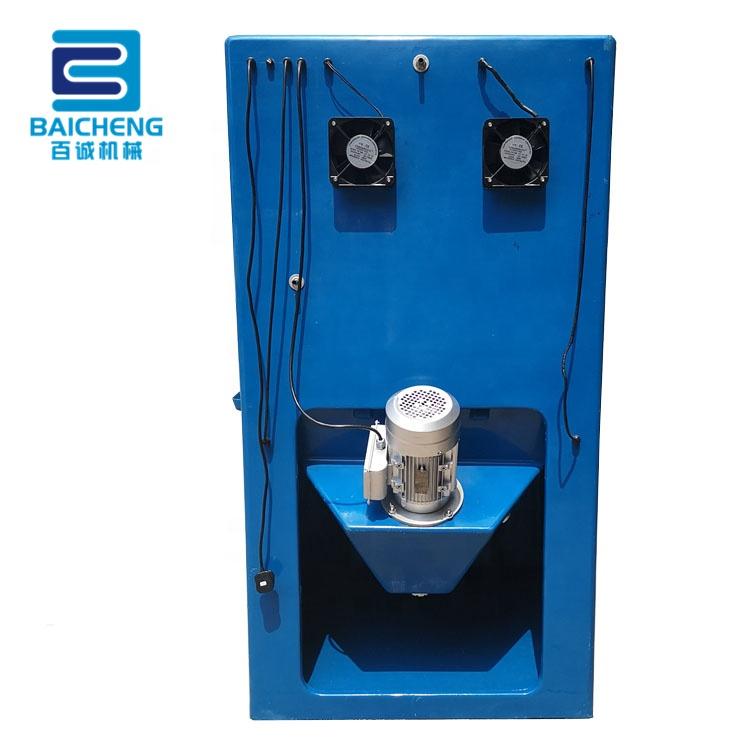 BC-9090 dustless manual wet sand blasting cabinet water vapour sandblasting machine