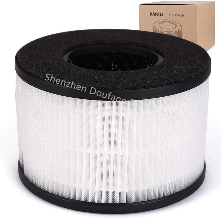 3-в-1 HEPA фильтр однократного применения для весельчаки BS-03 очиститель воздуха части U и часть X