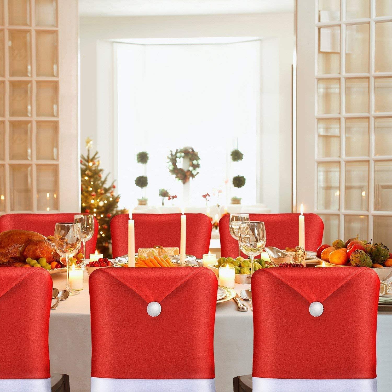 Christmas Felt Indoor Decoration  Xmas Chair Covers