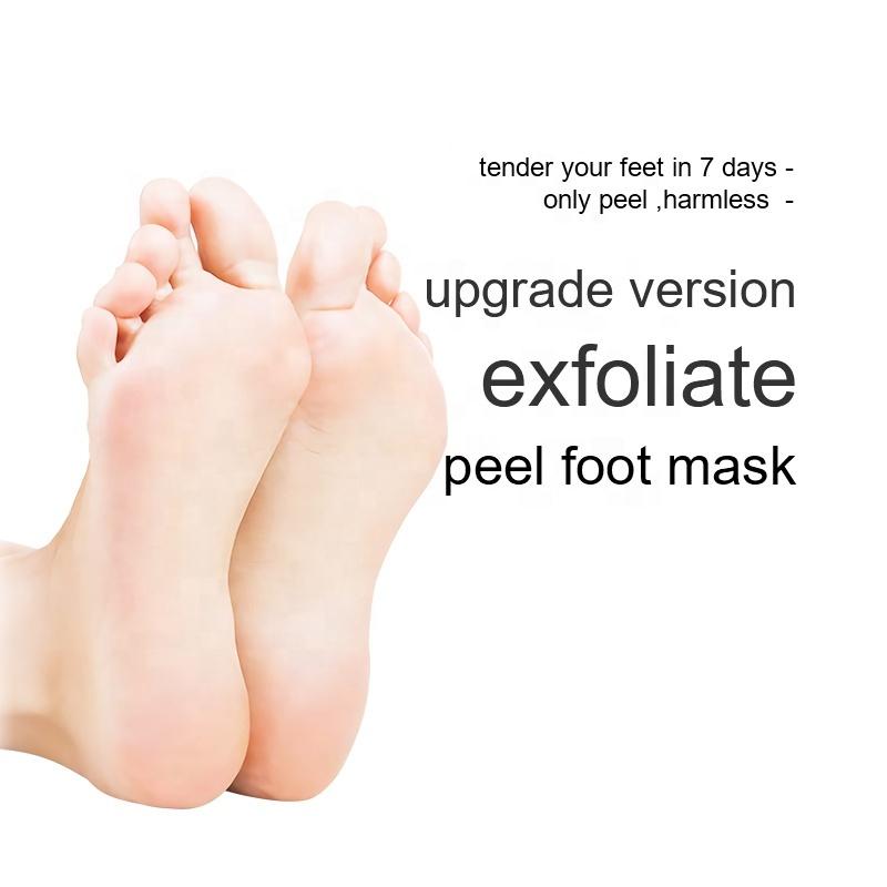 Custom Foot SPA Care Aloe Vera Moisturizing Exfoliating Peeling Foot Mask