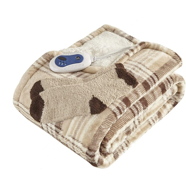Heated Blanket Customized Heating Blanket ETL Approval 110v Warming Electric Blanket