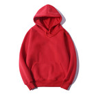 Cotton Hoodie Cotton Hoodie High Quality 100% Cotton Men's Custom Embroidery Logo Plain Blank Hoodie Sweatshirt