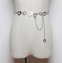 WKOUD EAM 2020, новое дизайнерское женское платье в форме сердца с металлической цепочкой на талии, корейское простое свадебное платье, тонкая цеп...(China)