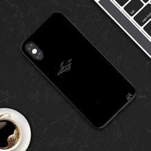 Чехол для iphone 7, 8 Plus, X, XS Max, XR, мягкий ТПУ чехол для iphone 6, 6s Plus, 11Pro, звездная планета, пара, задняя крышка(Китай)