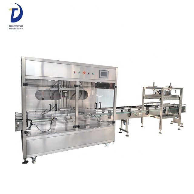 Automatic paint weight cup 4 liquid filling line