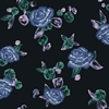 Blau Floral