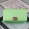 glossy light green