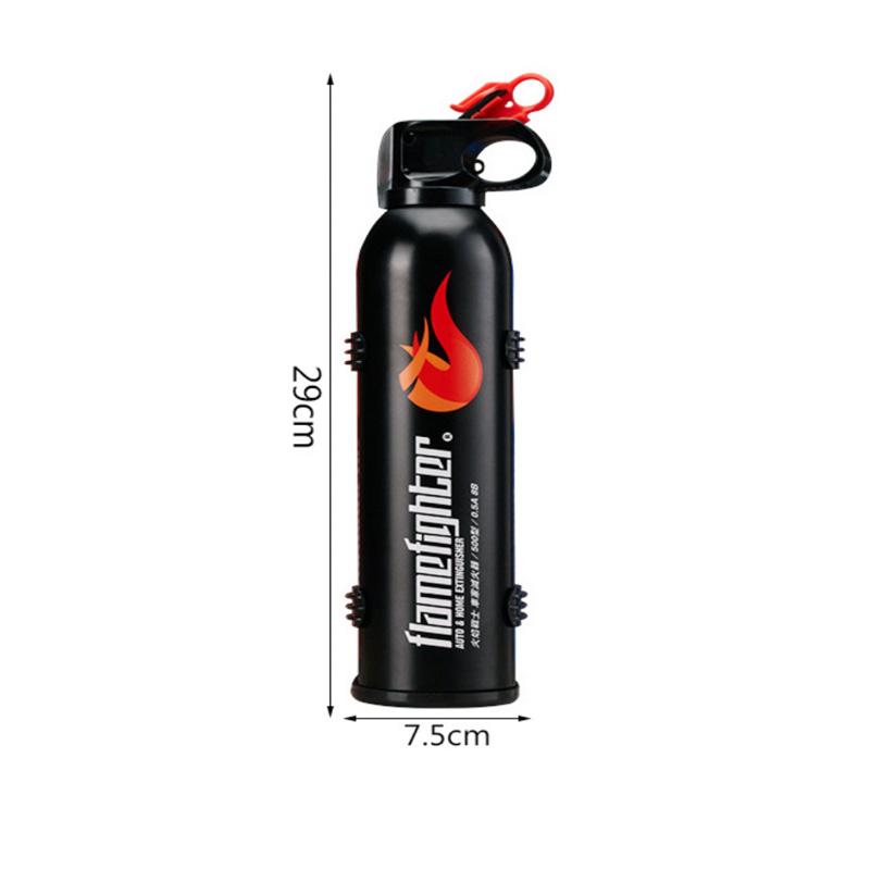 Высококачественный портативный 0,5 кг/500 мл автомобильный мини-Огнетушитель