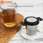Strainer 70mm Tea Strainer High Quality Personalised 7Cm 70Mm Loose Leaf Tea Infuser Stainless Steel Strainer With Lid
