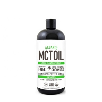 100% natural organic food grade mct oil virgin coconut oil Reliable and Quick Source of Energy