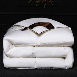 Супер мягкий полиэстер, однотонный цвет, сатин, шелк, на ощупь, стеганое всесезонное одеяло, размер под заказ