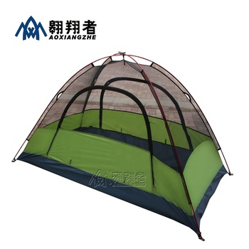 2020 updated new outdoor double layer 1 person camping tent