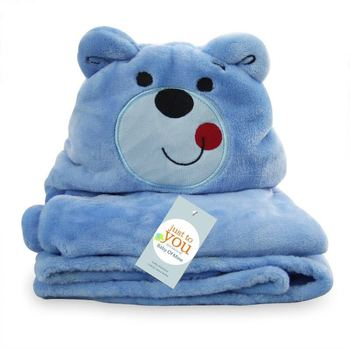 Different cut animal shape custom muslin baby bath towel with hood