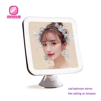 Led Mirror Battery Operated Cordless Makeup Mirror Illuminated Lighted Vanity Magnify Mirror