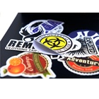 Adhesive Sticker Adhesive Customized Custom Printed Vinyl Adhesive Brand Logo Die Cut Sticker
