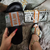 grey-dollar slipper set