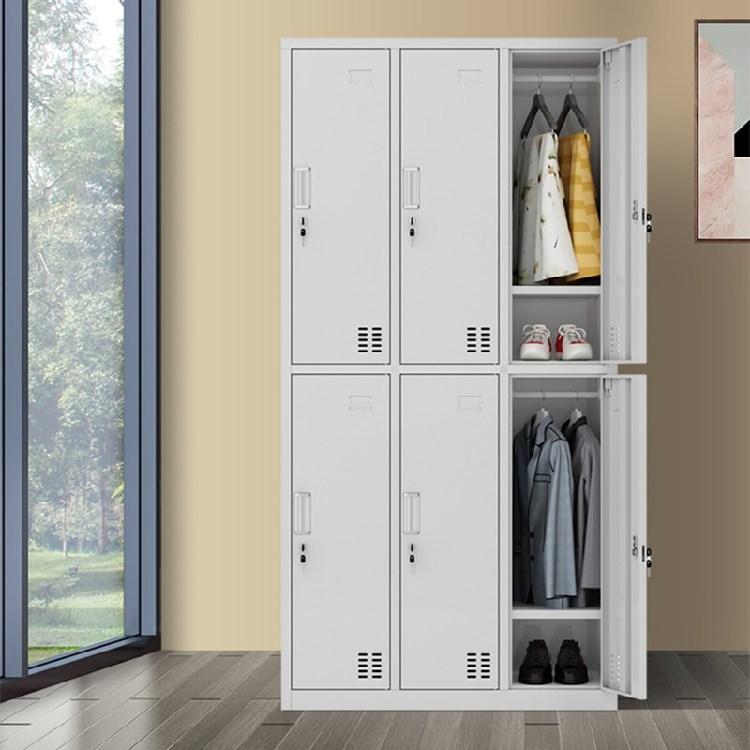 Hot Selling Top Quality 6 Door Metal Office Closet Steel Filing Storage Cupboard