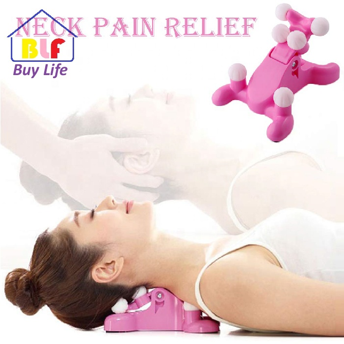 cervical spine alignment chiropractic pillow neck and head pain relief back massage traction device support relaxer tension hea buy cervical