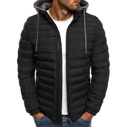 hot man parka 2021 top sale Polyester loose & thermal patchwork 402794