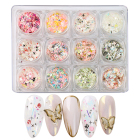 Beauty Nails Nail Nail Art Butterfly Acrylic Beauty Nails Supplies Wholesale Foil Flake Nail Art Sequins