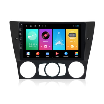 NaviFly M100 Voice Control 2.5D IPS Screen Android 9 1+16G Car DVD Player For for BMW E90 Car Radio GPS Navigator