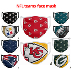 Nfl Football Mask Hot Sell Washable American Football Fashion Masks Nfl Face Mask For Custom NFL