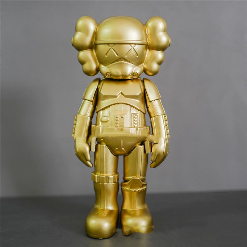 Лидер продаж, черно-белые куклы Звездные войны, 25 см, экшн-фигурки из ПВХ, коллекционные модели, подарки
