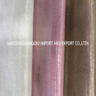 Garment 2020 SHAOXING FANGQIU Hot Sale Polyester Spandex Suede Foil Fabric For Garment