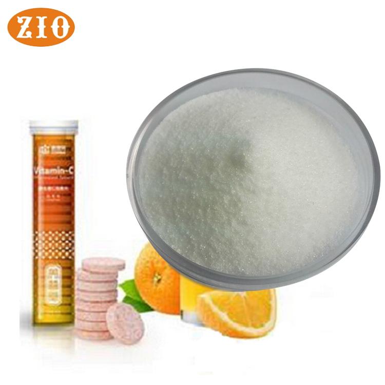 Доступен образец белого кристаллического чистого витамина С, порошок для лица