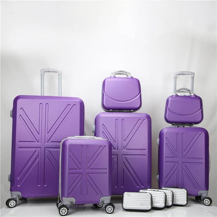 Чемодан на колесиках для путешествий с высококачественным чемоданом из АБС-пластика