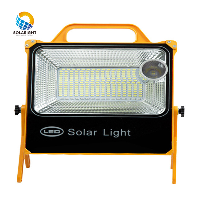 2020 solar flood light waterproof 15000mAh  portable charger mine floodlight outdoor  lighting LED  solar flood light
