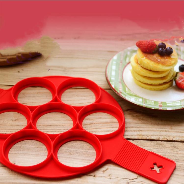 Wholesale 2020 hot pancake mold Silicone egg cooker