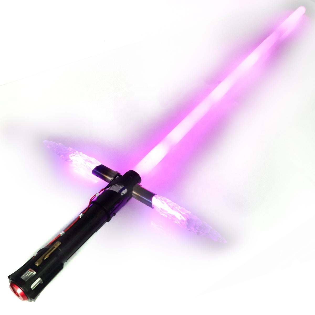 LGT SABERSTUDIO Damien Technology Lightsaber Heavy Dueling RGB Color Proffie neopixel Blade Cross Guard Light Saber Laser Sword